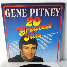 Discos de vinilo: GENE PITNEY. 20 GREATEST HITS. MASTERS. ALEMANIA.. Lote 189732872