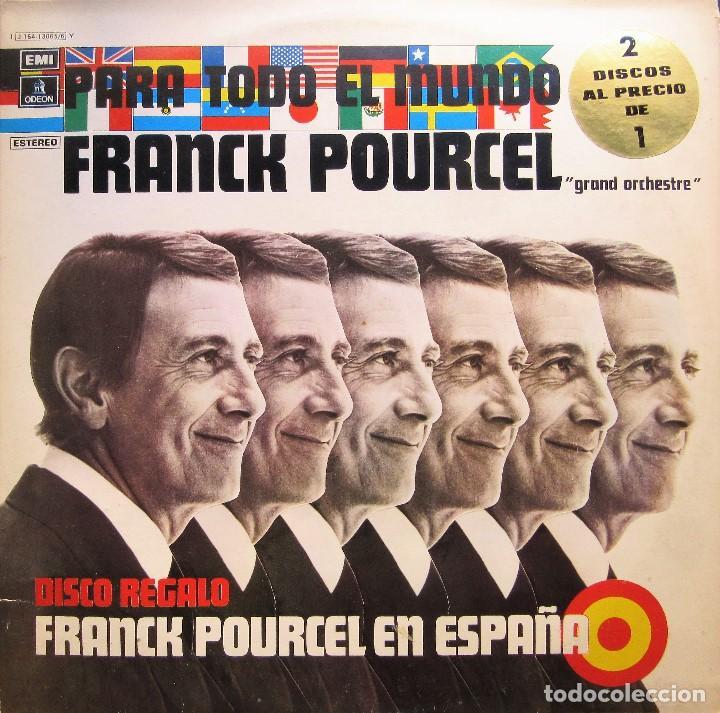 FRANCK POURCEL - PARA TODO EL MUNDO + EN ESPAÑA (Música - Discos - LP Vinilo - Orquestas)