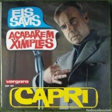 Discos de vinilo: VINILO CAPRI ACABAREM XIMPLES. Lote 189739065