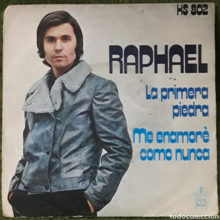 VINILO RAPHAEL LA PRIMERA PIEDRA (Música - Discos de Vinilo - EPs - Cantautores Españoles)