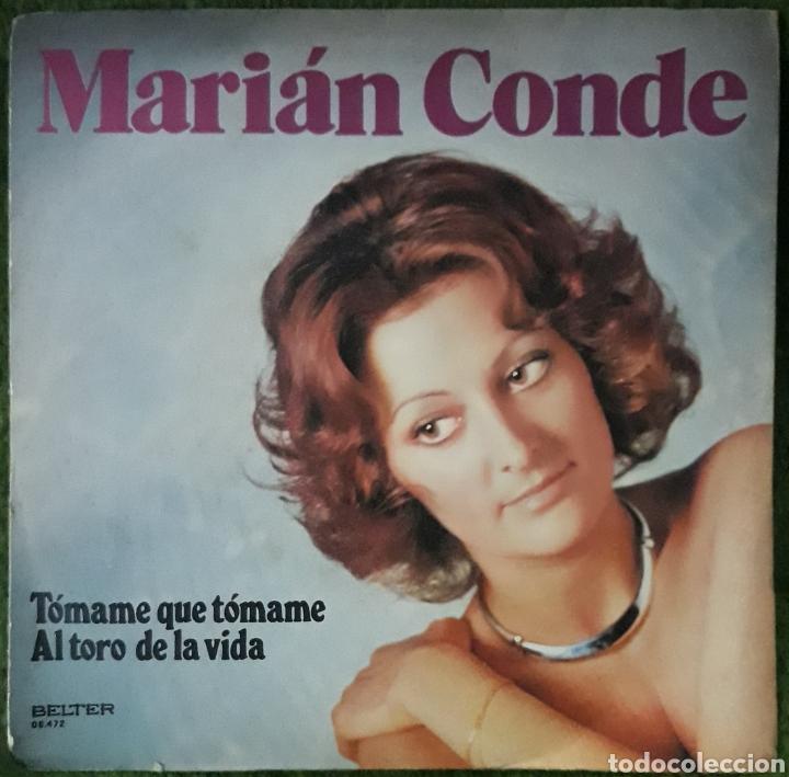 VINILO MARIAN CONDE TOMAME QUE TOMAME (Música - Discos de Vinilo - EPs - Cantautores Españoles)