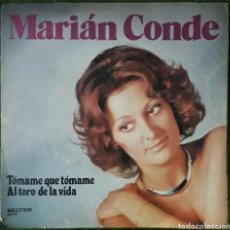 Discos de vinilo: VINILO MARIAN CONDE TOMAME QUE TOMAME. Lote 189741633