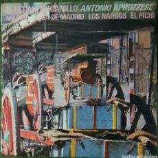 Discos de vinilo: VINILO EL ÚLTIMO ORGANILLO ANTONIO APRUZZESE. Lote 189743698