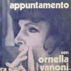 Disques de vinyle: ORNELLA VANONI - APPUNTAMENTO. Lote 268456704