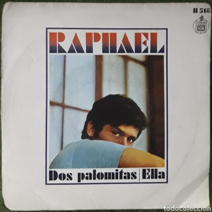 VINILO RAPHAEL DOS PALOMITAS ELLA (Música - Discos de Vinilo - EPs - Cantautores Españoles)