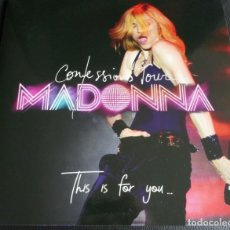 Discos de vinilo: MADONNA - THIS IS FOR YOU- LP COLORED VINYL-. Lote 189750806