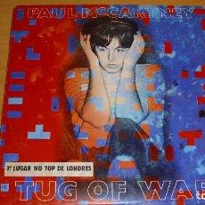 Discos de vinilo: ANTIGUO LP VINILO PAUL MCCARTNEY TUG OF WAR EDICIÓN PORTUGUESA 1982. Lote 189753543