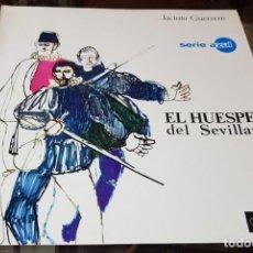 Discos de vinilo: EL HUÉSPED DEL SEVILLANO - JACINTO GUERRERO - EMI REGAL SERIE AZUL. Lote 189754222