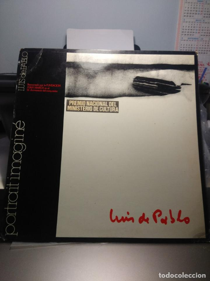 LP LUIS DE PABLO & GRUPO KOAN : PORTRAIT IMAGINE (Música - Discos - LP Vinilo - Electrónica, Avantgarde y Experimental)