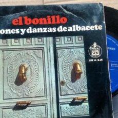 Dischi in vinile: E P ( VINILO) DE EL BONILLO AÑOS 60. Lote 189756045