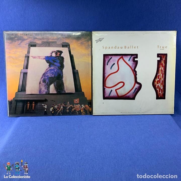 LOTE DOS LP ´S SPANDAU BALLET - PARADE - ESPAÑA 1983 + TRUE - ESPAÑA 1984 (Música - Discos - LP Vinilo - Electrónica, Avantgarde y Experimental)