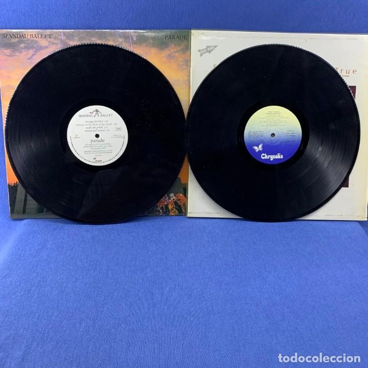 Discos de vinilo: LOTE DOS LP ´S SPANDAU BALLET - PARADE - ESPAÑA 1983 + TRUE - ESPAÑA 1984 - Foto 3 - 189756953