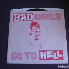 Discos de vinilo: PUSSYCATS / BESTTIAS EP MUNSTER 1996 - BAD GIRLS GO TO HELL - GARAGE PUNK CHICAS 90'S. Lote 189757897