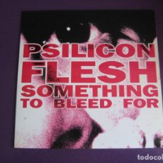 Discos de vinilo: PSILICON FLESH EP SUBTERFUGE 1993 - SOMETHING TO BLEED FOR +2 - GRUNGE HARDCORE FUNK 90'S - SIN USO. Lote 189758097