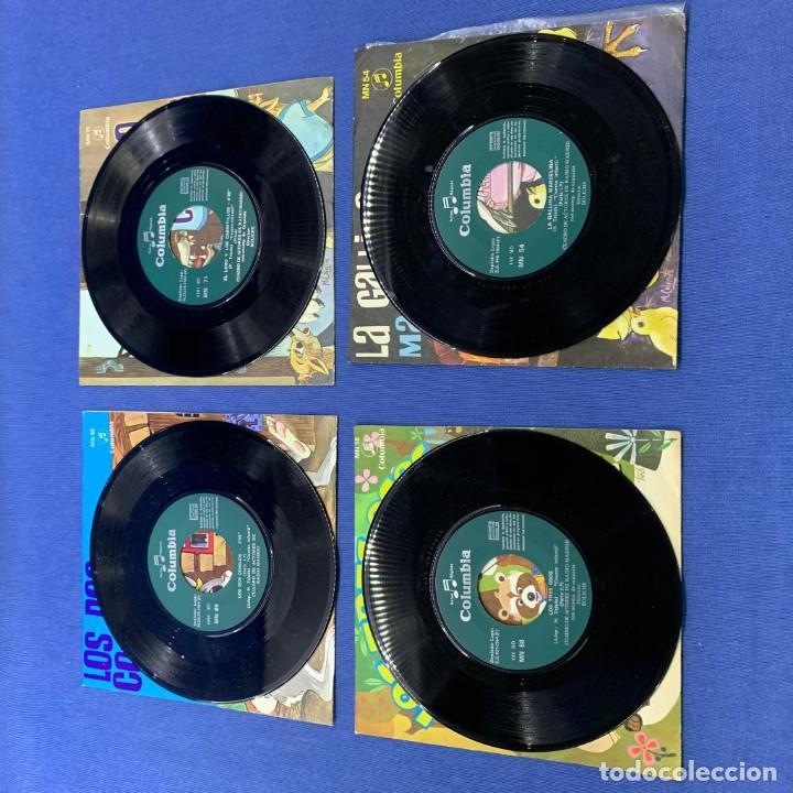 Discos de vinilo: LOTE 3 SINGLES - LOS 2 CONEJOS + LA GALLINA MARCELINA +LOS 3 OSOS+EL LOBO Y LOS CABRITILLOS - 60´S - Foto 3 - 189758278