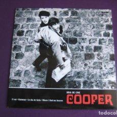 Discos de vinilo: COOPER EP ELEFANT 2007 - DÍAS DE CINE - MOD POP - LOS FLECHAZOS - ALEJANDRO DIEZ - SIN ESTRENAR. Lote 189765312