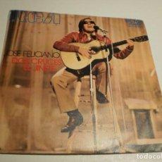 Discos de vinilo: SINGLE JOSÉ FELICIANO. DOS CRUCES. EL JINETE. RCA 1971 SPAIN (DISCO PROBADO Y BIEN, BUEN ESTADO). Lote 189765707