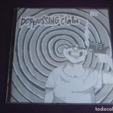 Discos de vinilo: DEPRESSING CLAIM EP NO TOMORROW 1993 - LUCHANDO CONTIGO +2 PUNK POP RAMONES - CASTELLON - SIN USO. Lote 189767061
