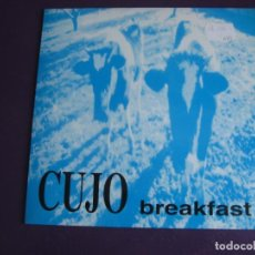 Discos de vinilo: CUJO EP GOO 1995 - BREAKFAST - EX CANCER MOON - GRUNGE ROCK 90'S - SIN USO - DESVAN MACHO . Lote 189767945