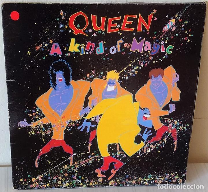 QUEEN - A KIND OF MAGIC EMI - 1986 (Música - Discos - LP Vinilo - Pop - Rock - New Wave Extranjero de los 80)