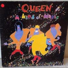 Discos de vinilo: QUEEN - A KIND OF MAGIC EMI - 1986. Lote 189768920