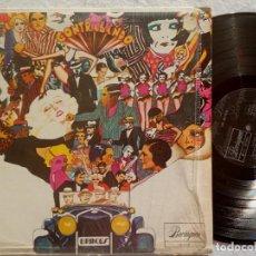 Discos de vinilo: LOS BRINCOS - CONTRABANDO - LP PUERTO RICO - BORINQUEN. Lote 189770821