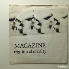 Discos de vinilo: MAGAZINE ?– RHYTHM OF CRUELTY - T.V. BABY UK 1979 VIRGIN. Lote 189778215