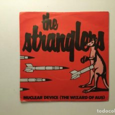 Discos de vinilo: THE STRANGLERS ?– NUCLEAR DEVICE (THE WIZARD OF AUS) - YELLOWCAKE UF6 UK 1979 UNITED ARTISTS . Lote 189779480