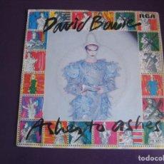 Disques de vinyle: DAVID BOWIE SG RCA 1980 - ASHES TO ASHES +1 POCO USO. Lote 189779516