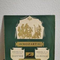 Discos de vinilo: DISCO VINILO MOZART SINFONÍA N35YN41. Lote 189779650