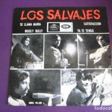 Discos de vinilo: LOS SALVAJES EP REGAL 1965 - SE LLAMA MARIA +3 - GARAGE BEAT 60'S BARCELONA. Lote 189783323