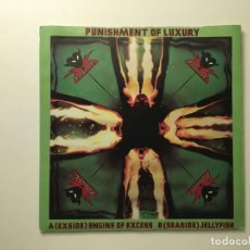 Discos de vinilo: PUNISHMENT OF LUXURY ?– ENGINE OF EXCESS - JELLYFISH UK 1979 UNITED ARTISTS RECORDS. Lote 189783492