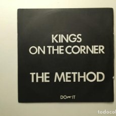 Discos de vinilo: THE METHOD (4) ‎– KINGS ON THE CORNER - DYNAMO UK 1977 DO IT RECORDS. Lote 189783710