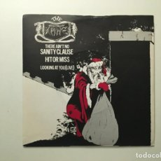 Discos de vinilo: THE DAMNED ?– THERE AIN'T NO SANITY CLAUSE - HIT OR MISS - LOOKING AT YOU(LIVE) UK 1980 CHISWISK. Lote 189786438