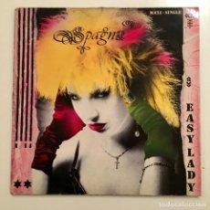 Discos de vinilo: MAXI SINGLE VINILO 45 RPM, SPAGNA, EASY LADY, CBS RECORDS 1986. Lote 189787176