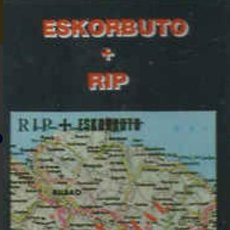 Discos de vinilo: ESKORBUTO + RIP ZEN K7/CASSETTE 1991 MUY DIFÍCIL JOYA PUNK!! LARSEN VULPESS M.C.D. VOMITO ZER BIZIO?. Lote 189790568