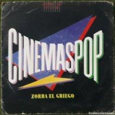 Discos de vinilo: VINILO CINEMASPOP ZORBA EL GRIEGO. Lote 189812367