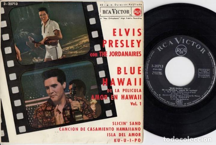 ELVIS PRESLEY - SLICIN' SAND - EP ESPAÑOL DE VINILO (Música - Discos de Vinilo - EPs - Rock & Roll)