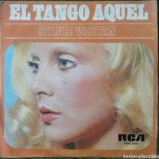 Discos de vinil: VINILO SYLVIE VARTAN EL TANGO AQUEL. Lote 189813161