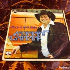 Discos de vinilo: SINGLE / EP. SLEEPY LABEEF. ROCK & ROLL RUBY. 1980. Lote 189814262