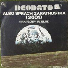 Discos de vinilo: VINILO DEODATO ALSO SPRACH ZARATUSTRA RHAPSODY IN BLUE. Lote 189815318