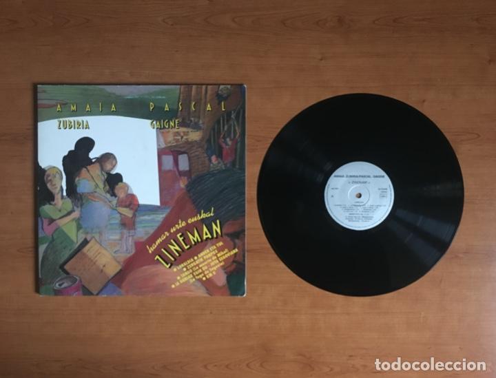 AMAIA ZUBIRIA + PASCAL GAIGNE - ZINEMAN (1990 ANGEL AMIGO HAIZEA HONTZ GAUA) (MP3 ANUNCIO) (Música - Discos - LP Vinilo - Grupos Españoles de los 70 y 80)