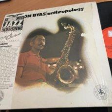 Discos de vinilo: DON BYAS (ANTHROPOLOGY) LP AMERICAN JAZZ CLASSICS (B-8). Lote 189874818