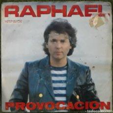 Discos de vinilo: VINILO RAPHAEL PROVOCACIÓN. Lote 189879300