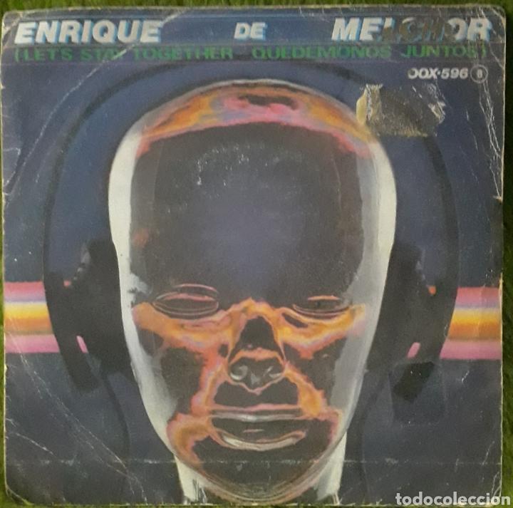 VINILO ENRIQUE DE MELCHOR QUEDÉMONOS JUNTOS (Música - Discos de Vinilo - EPs - Cantautores Españoles)