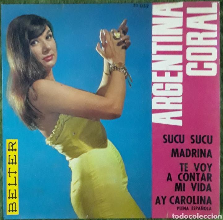 VINILO ARGENTINA CORAL SUCU SUCU (Música - Discos de Vinilo - EPs - Cantautores Españoles)