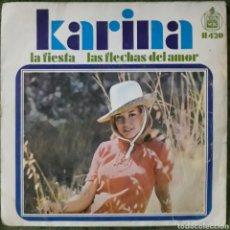 Disques de vinyle: VINILO KARINA LA FIESTA. Lote 189885185