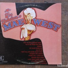 Discos de vinilo: MAE WEST. THE FABOLOUS MAE WEST. DECCA, DL 79016. USA, 1956. FUNDA VG. DISCO VG++. Lote 189887146