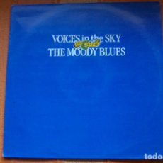 Discos de vinilo: LP VOICES IN THE SKY. THE OF THE MOODY BLUES. POLYGRAM IBÉRICA, 1986.. Lote 189890212