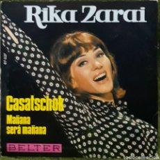 Discos de vinilo: VINILO RIKA ZARAI MAÑANA SERÁ MAÑANA. Lote 189890420
